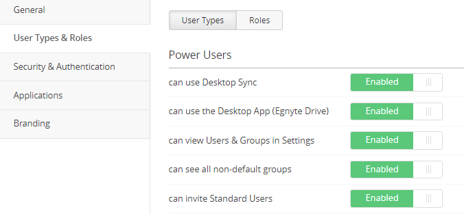 Group Management for Power Users – Egnyte