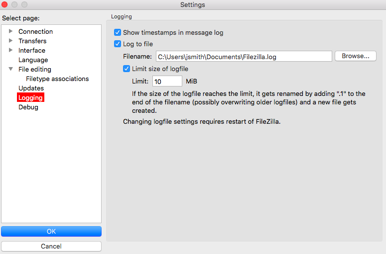 FileZilla FTP Client (Windows & Mac) – Egnyte