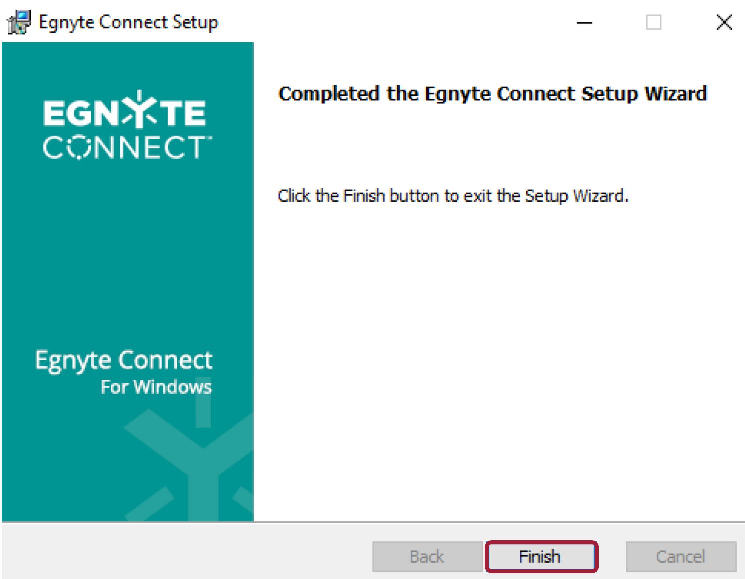 Desktop App for Windows Installation – Egnyte