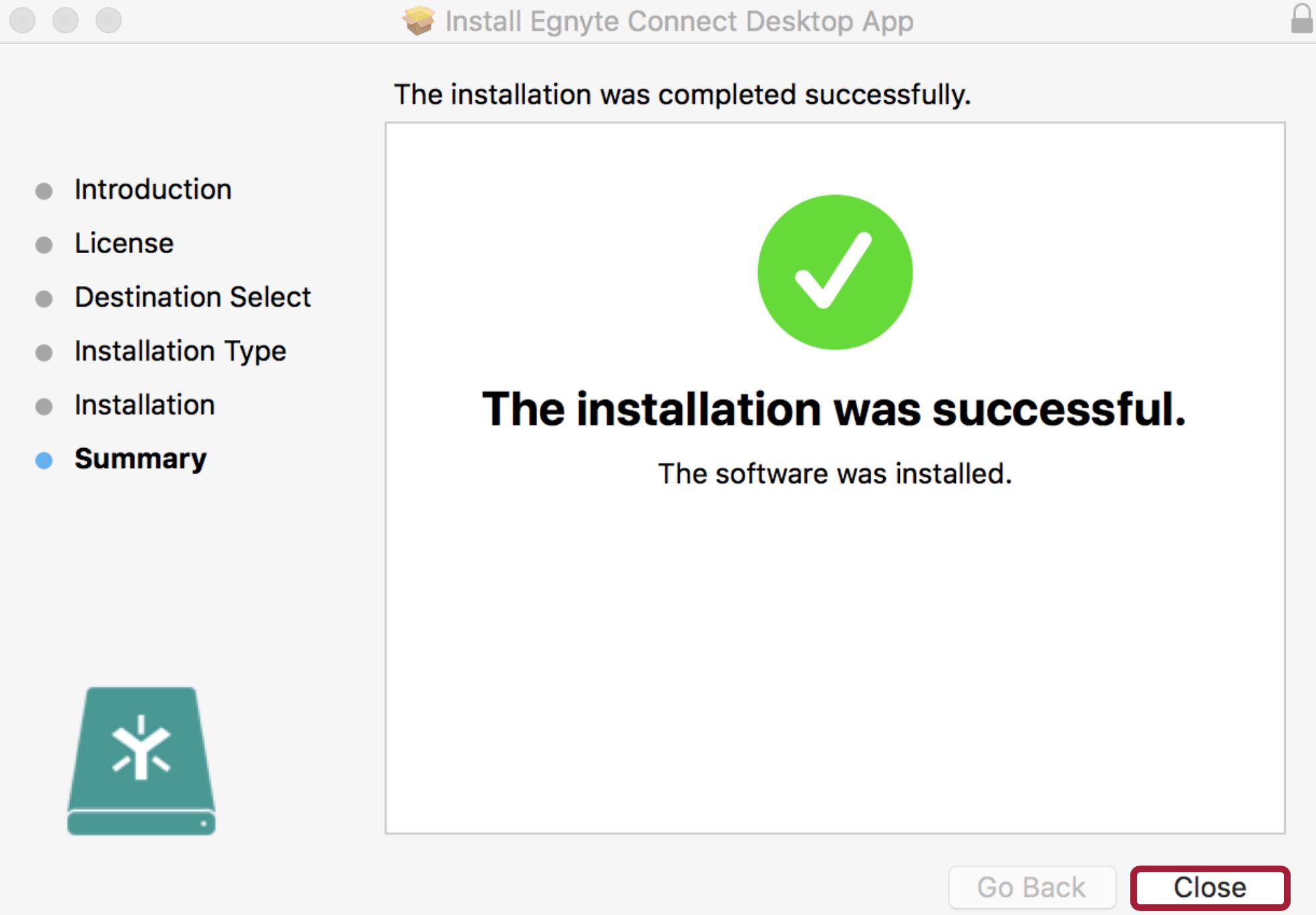 Desktop App for Mac Installation – Egnyte