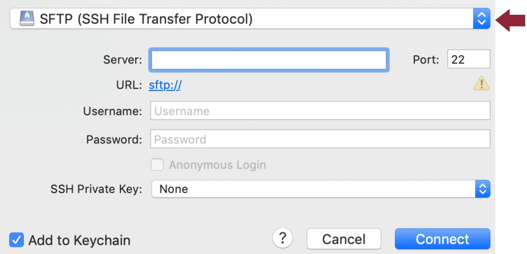Cyberduck FTP Client (Mac) – Egnyte