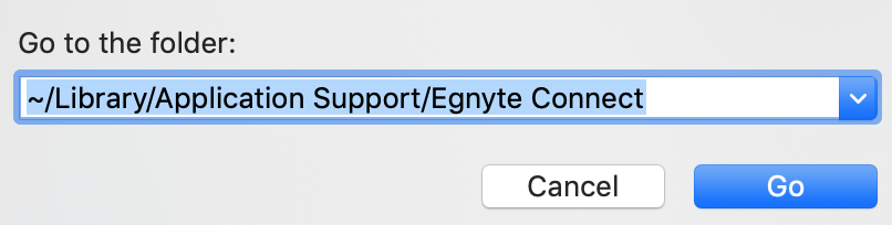 Desktop App for Mac Uninstallation – Egnyte