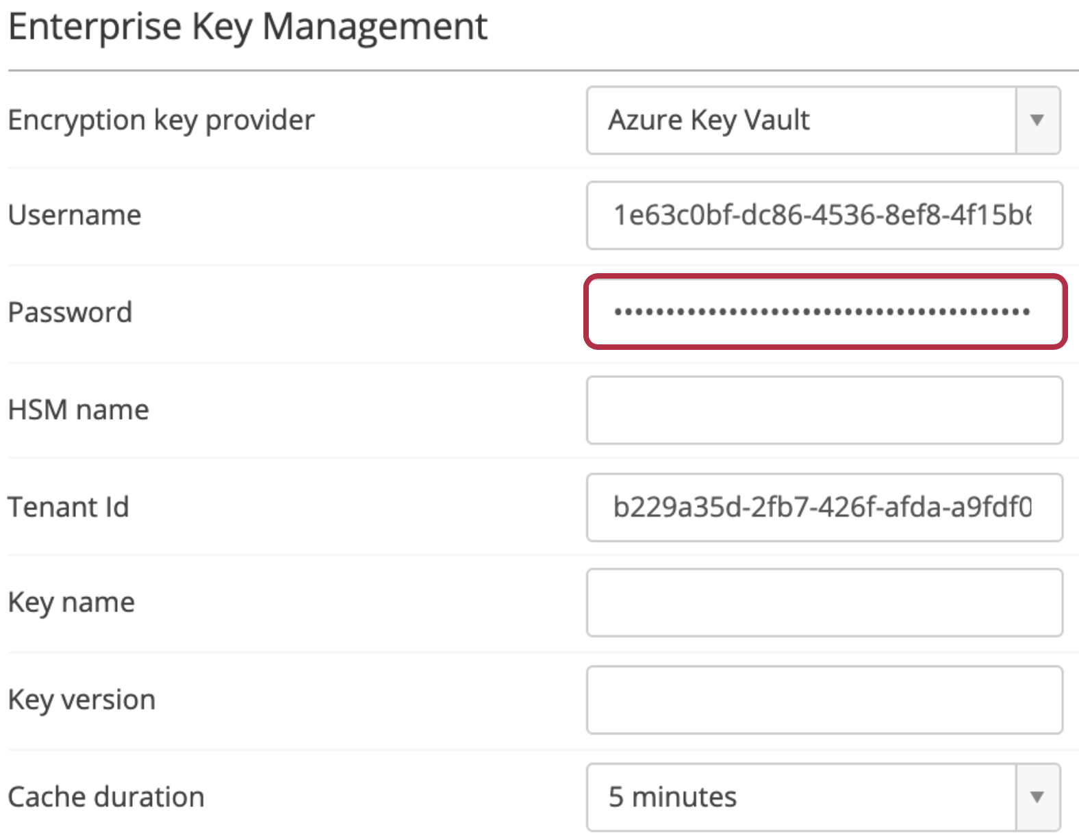 Configure Enterprise Key Management - Azure Key Vault – Egnyte