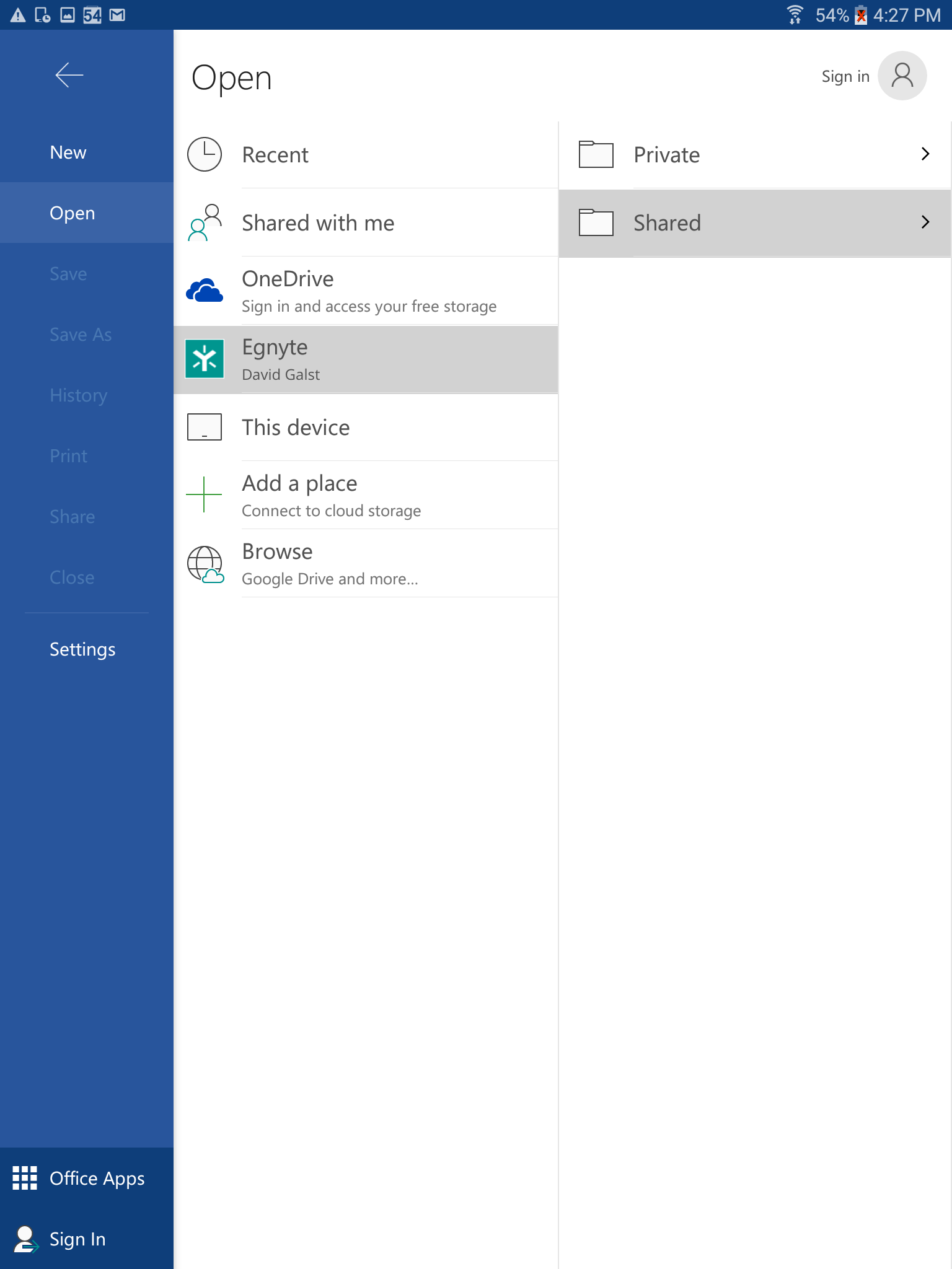Egnyte Mobile Apps for Office Integrations – Egnyte