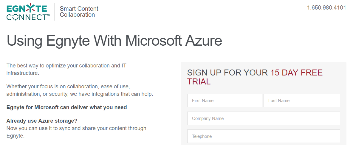 Get started with Egnyte Connect for Microsoft Azure – Egnyte