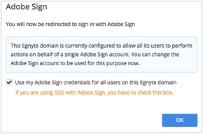 Also Your Adobe Sign Account Should Have The Necessary Subscription To Use  This Feature. Do Not Check The Checkbox If You Just Want To Use Your Own  Single ...